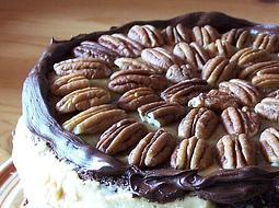 ピーカンナッツのケーキ